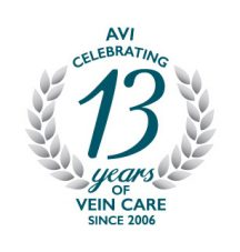 AVI Celebrating 13 Years of Vein Care